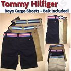 Внешний вид - NEW Tommy Hilfiger Boys Cargo Shorts with Belt - VARIETY of Sizes and Colors