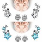 Star CZ Cluster Surgical Steel Cartilage Upper Ear Stud Earring Helix Bar