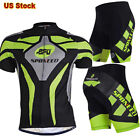 Bike Jersey Shorts Outfits Men's Bike Clothing 4D Gel Padded Short Trousers NEW