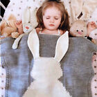CUTE Kids Baby Napping Blanket Rabbit Bedding Towels Cover Throws Wrap Soft hot