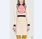 Occident runway fashion high quality embroidered handmade bead elegant hot dress