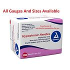 Dynarex Hypodermic Sterile Needles, Different Gauge & Size From 5 To 100 Needles