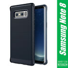 For Samsung Galaxy Note 8 Phone Case Carbon Fiber Silicone Tough Phone Cover New