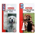 Beaphar Dog Puppy Flea and Tick Control Drops 4 Week 12 Week Spot On Treatment