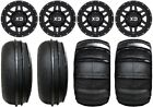 "KMC XS128 Machete 14"" ATV Wheels 28"" Sand Stripper/HP Tires Suzuki KingQuad"