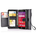 For LG Fiesta LTE/K10 Power/X Charge/X Power 2 Leather Case Wallet Card Cover