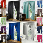 Thermal Blackout Pair Eyelet Curtains Ready Made All Size in Attractive Colours