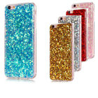 Soft Bling Sparkly Glitter Flash TPU Protective Cover Case Slim Fit for iPhone