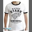 Game of Thrones - T-Shirt House Stark (Premium Blanc) - ABYstyle