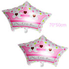 US 2pcs Baby Shower Foil Ballons Helium Kids Child Birthday Party Decor Home