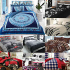 Duvet Cover And Pillow Cases Quilt Cover Bedding Set Single Double King All Size