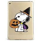New Snoopy Halloween lantern pumpkin Ghost Silicone Case Cover For iPad N353-9