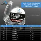 Maxcatch Japanese Fluorocarbon Fly Fishing Tippet 50M 1X 2X 3X 4X 5X 6X Clear