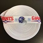 "1"" White NY New York Giants Yankees Grosgrain Ribbon by the Yard (USA SELLER!) $9.55 USD on eBay"