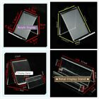 10 pcs 1-Tier Acrylic Retail Display Aid Phone Case Wallet Holder Easel Stand