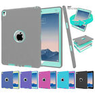 Shockproof Military Heavy Duty Hybrid Silicone Hard Case Cover For Apple iPad