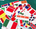 European/International Flag Full Colour Stickers - BUY 2 GET 1 FREE -ANY COUNTRY