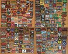 Customize Set of 12 Metal Rock Retro Music Band Sew Iron On Embroidered Patches