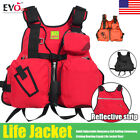 Внешний вид - Adult Adjustable Buoyancy Aid Sailing Kayak Canoeing Fishing Life Jacket Vest