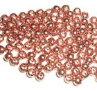 PREMIUM COPPER BRASS BEADS FOR FLY TYING - 8 SIZES TO PICK FROM - 25 COUNT