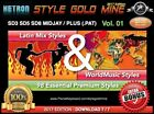98 NEW SUPER STYLES LATIN & WORLD MUSIC KETRON SD3 SD5 SD8 MIDJAY + NEW EDITION