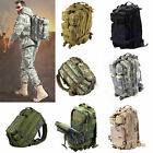 30L Hiking Camping Bag Army Military Tactical Trekking Rucksack Backpack Camo TM