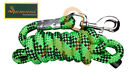 Rumani Quality Poly Blend Core Horse Equestrian Lead Rope With Iron Snap