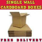 SINGLE WALL - QUALITY POSTAL MAILING CARDBOARD BOXES *19 SIZES*
