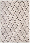 NEW Chocolate & Natural Otis Power Loomed Easy Care Modern Rug Network Rugs