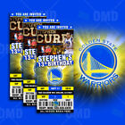 Golden State Warriors Ticket Style Sports Party Invitations on eBay