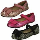 Girls Cutie - Flat Glittery Party Shoes