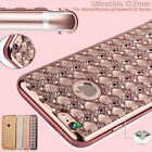 New Gemstones Bling Diamond Soft Case Cover For iPhone Samsung Huawei LG Phones