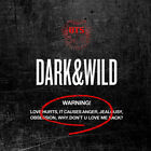 BTS [DARK & WILD] 1st Album CD+Photo Book+2p Photo Card+GIFT CARD K-POP SEALED