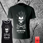 Saiyan Vegeta Skull Gym Tee-Dragon Ball Z Shirt-Workout Tank Training Goku DBZ