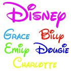 Disney Personalised name plaque words/letters wall/door art craft sign