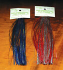 HOLOGRAPHIC FLY FIBER FLASH MATERIAL U PICK COLOR FLY & JIG TYING HEDRON INC