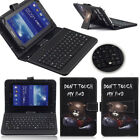US Acer Iconia One 10 B3-A40 USB Micro Keyboard Flip PU Leather Case Cover