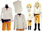 NEW! Black Butler Kuroshitsuji Finnian Cosplay Costume cos Free Shipping