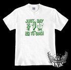 JUST SAY NO TO GMO! vegan vegetarian Original Artwork! SHIRT men women kids