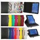 Universal 360° Rotating Wallet Case Cover fits Tiptiper 10 Inch Tablet PC