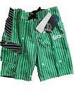 JOB LOT OF 8 PAIRS OF SWIMMING/BOARD SHORTS BY GOTCHA SURF WEAR TAGGED
