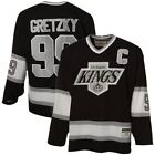 WAYNE GRETZKY Los Angeles Kings CCM Heroes of Hockey Jersey BLACK M XL2XL