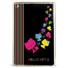 Lovely Hello kitty Prints Black Soft Silicone Case Cover For Samsung iPad A08D64