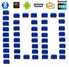 elm327 obdii bluetooth adapter - 100X Mini OBD2 OBDII ELM327 v2.1 Android Bluetooth Adapter Auto Scanner LOT TK