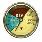 """3"""" BBQ CHARCOAL GAS ELECTRIC GRILL SMOKER PIT OVEN THERMOMETER GAUGE REST ADJUST"""