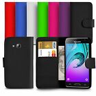 Premium Leather Wallet Case Cover For Samsung Galaxy J3 With Screen Guard