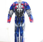Prime Transformer Boys Kids Halloween Costume Outfit Jumpsuit  Party Dress Cloth