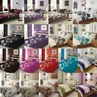 3PCs Printed Duvet Quilt Cover with Pillowcase Bedding Set