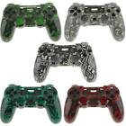 Blood Shell Full Housing Mod Kit Set Repair Parts for PS4 Controller