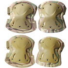 Adjustable Airsoft Tactical Combat Protective Knee and Elbow Pad Knee & Elbow Pads - 177894